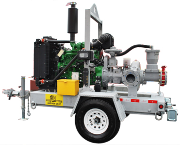 Tiger Industrial Rentals 6x6 Diesel Vac Assist (Super6) Pump
